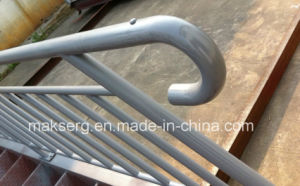 Primer Painted Steel Stair Balustrade with Blind Spot pictures & photos
