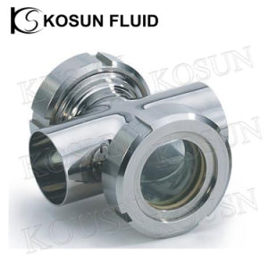 Stainless Steel Inline Sanitary Pipe Sight Glass pictures & photos