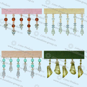 2017 Colorful Curtain Beaded Tassel Fringe 007 pictures & photos