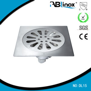 Popular 4 Inches Stainless Steel Floor Drain (DL15) pictures & photos