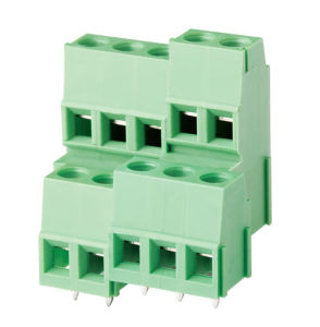 Best Selling PCB Screw Terminal Block (WJE3K500A/508A-5.0/5.08mm) pictures & photos