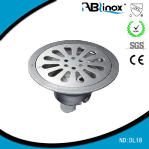 Round Shape Steel Cast Floor Drain (DL18) pictures & photos