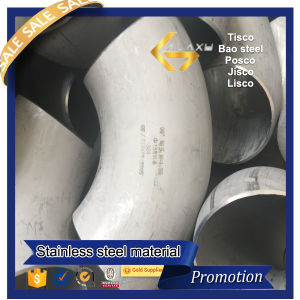 90 Degree Long Radius Stainless Steel Elbow (304 316L)