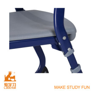 Modern Desk and Chair for University Furniture (Adjustable aluminuim) pictures & photos
