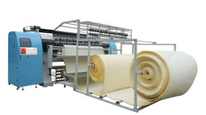 Yuxing Multi-Needle Chain Stitch Shuttleless Quilting Mattress Machine with CE ISO Approval pictures & photos