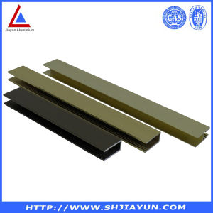 6063 Aluminum Extrusion Profile with Different Surface pictures & photos