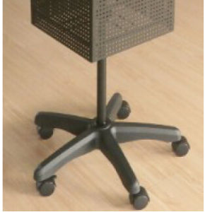 Metal Floor Standing Pegboard Spinning Rack (HBE-DS-20) pictures & photos