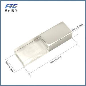 Customerized Logo Crystal Transparent USB Flash Drive pictures & photos