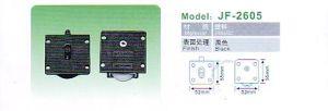 Jf-2604 Cupboard Hardware Sliding Door Wheel Truckle Series pictures & photos