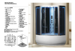 Hot Selling Design Fashion Steam Room Shower Room (D513) pictures & photos