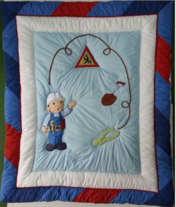 Patch Work Quilt with Colorful Hem for Baby Boy Very Cool pictures & photos