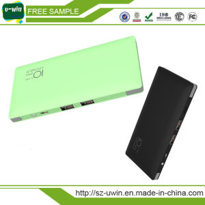 Micro Dual Output Bulid in Cable 4000mAh / 10000mAh Phone Charger pictures & photos