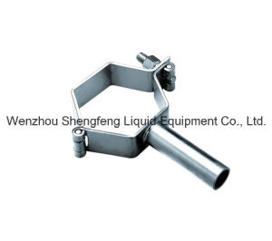 Hygienic Food Grade Stainless Steel Sanitary Pipe Holder pictures & photos