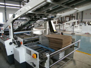 Corrugated Cardboard Manufacturers Automatic Flute Laminating Machine pictures & photos