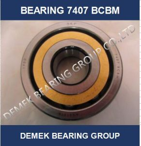 Angular Contact Ball Bearing 7407 Bcbm with Brass Cage pictures & photos