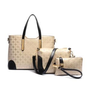 2016 New Embossed Lady Handbag Sets 3PCS Fashion Designer (XM0111) pictures & photos