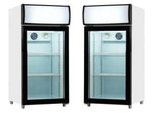 330L Glass Door Bottle Bar Coolers -Bg-330s pictures & photos