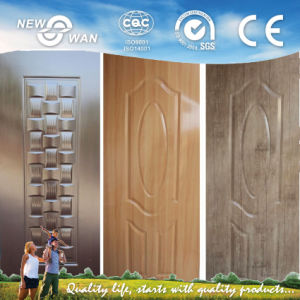 Melamine HDF Moulded Door Skin Used for Interior Door (NMD-1129) pictures & photos