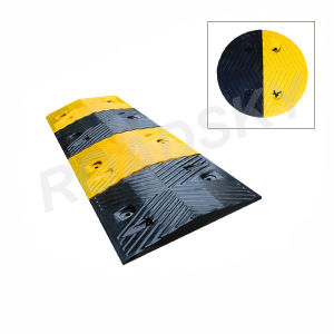 High Strength Traffic Safety Rubber Road Hump Manufacturer pictures & photos