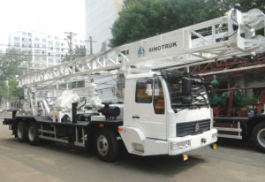 Best Price Truck Mounted Drilling Rig of Bzc400 pictures & photos
