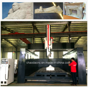 Big Size 4 Axis Stone CNC Router Machine for Building Decoration Sculpture pictures & photos
