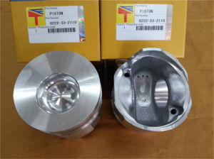 Engine Parts Piston for Komatsu (6222-33-2110) pictures & photos