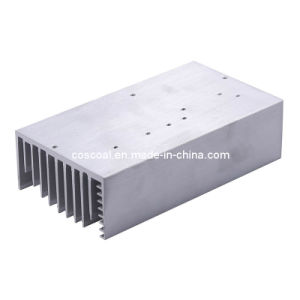 Aluminum/Aluminium Skived Heat Sink with Color Anodizing pictures & photos