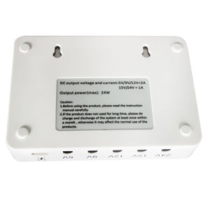Portable DC Mini UPS 12V 15V 24V for Network pictures & photos
