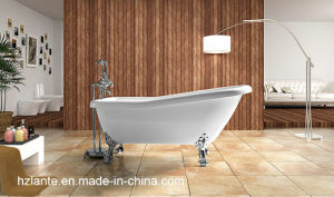Classic Design Freestanding Acrylic Bathtub with Four Paw Feet (LT-10TW) pictures & photos