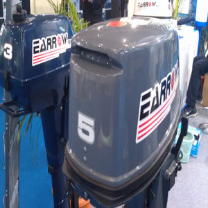 Outboard Motor of Two Stroke 5HP Outboard Engine pictures & photos