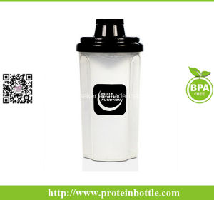 Plastic 700ml Protein Shaker Mixer Cup pictures & photos