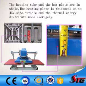 Pneumatic Automatic Double Stations Sublimation Heat Transfer for T Shirt pictures & photos