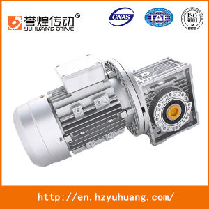 Gear Box Nmrv75 Series Aluminium Worm Reduction Gearbox pictures & photos