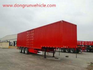 3 Axle Van Box Cargo Semi Trailer Manufacturer
