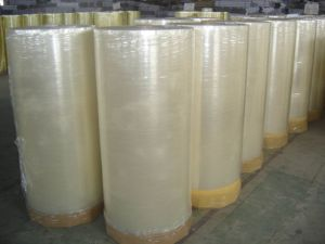 BOPP Jumbo Roll Adhesive Tape in Packing