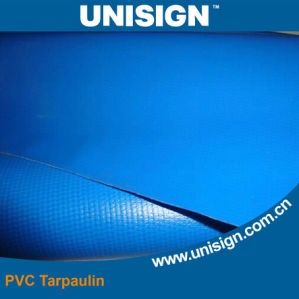 Blue Sunshade PVC Coated Tarpaulin for Beach Umbrella pictures & photos
