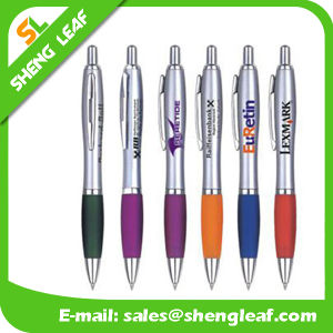 Colorful Table Ballpoint Pen with Line (SLF-TP011) pictures & photos