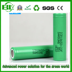 Icr18650 22f Original 3.7V 2200mAh Li-ion Rechargeable Battery with Samsung pictures & photos