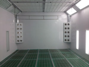 Water-Based Paint Spray Booth pictures & photos