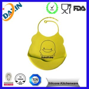 Cheap Eco Friendly Silicone Bib Silicone Custom Baby Bib pictures & photos