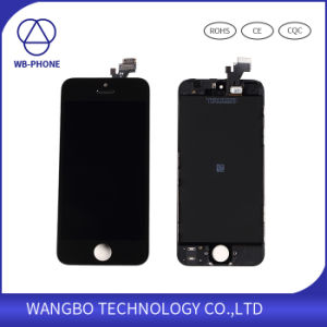 LCD Touch Screen for iPhone 5, LCD Digitizer for iPhone 5 Factory Price, Screen Display for iPhone 5 Replacement pictures & photos