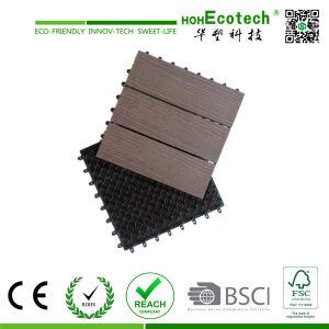 Wood Plastic Composite Decking Tile/ WPC DIY Tile / Interlock WPC Decking Tile pictures & photos