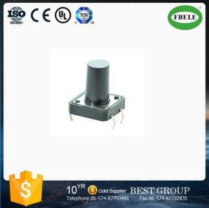High Quality Tact Switch with 4pins, Square Tact Switch, 4 Pin Micro Push Button Square Stem Tactile Push Button Switch pictures & photos