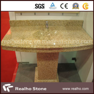 Prefab Yellow Granite Countertop for Kitchen/Bathroom pictures & photos