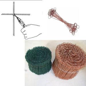 Single Loop Tie Wire/Double Loop Tie Wire/ Bag Tie Wire pictures & photos