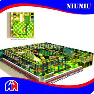 Children Indoor Plastic Playground for Amusement Park pictures & photos