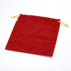 Velvet Drawstring Bag pictures & photos