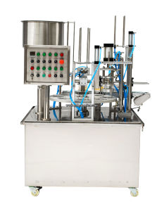 Automatic Packing Ice Cream Coffee Capsule Filling Machine with Ce pictures & photos