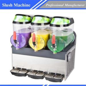Slush Machine Beverage Machine Commercial restaurant Equipment Xrj-10L*3 pictures & photos