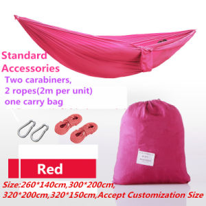 Carries Hot-Selling Indoor and Outdoor Hammock Double Hammock pictures & photos